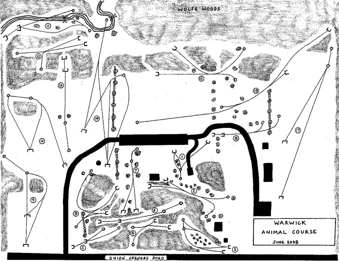 Brakewell Steel Course map